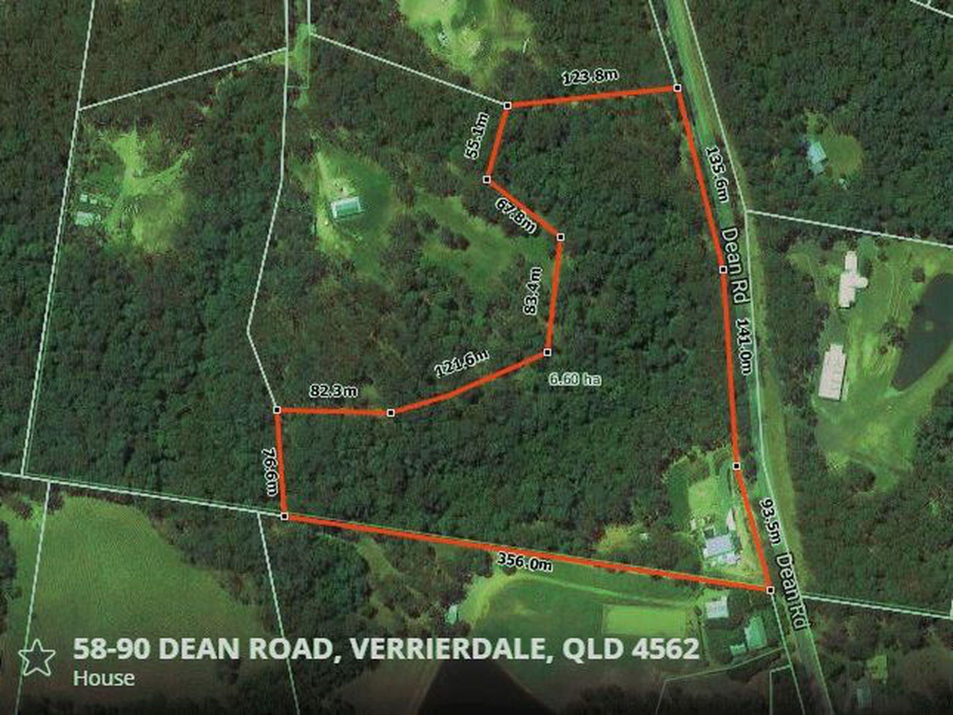 58-90 Dean Rd, Verrierdale
