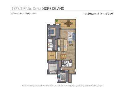 1722 / 1 Rialto Quay Drive, Hope Island
