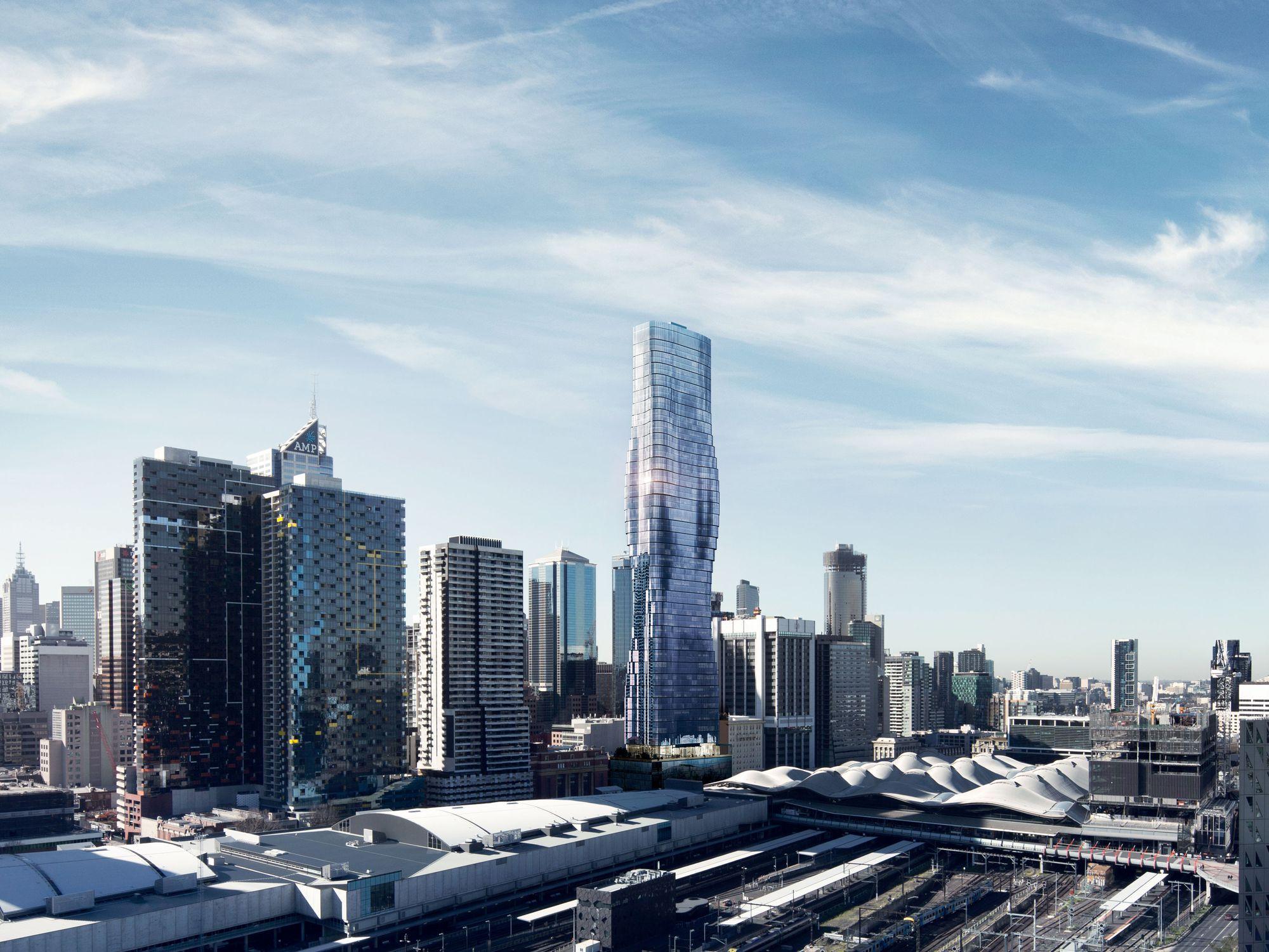 134-160  Spencer Street, Melbourne