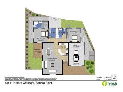4 / 9-11 Narara Crescent, Banora Point