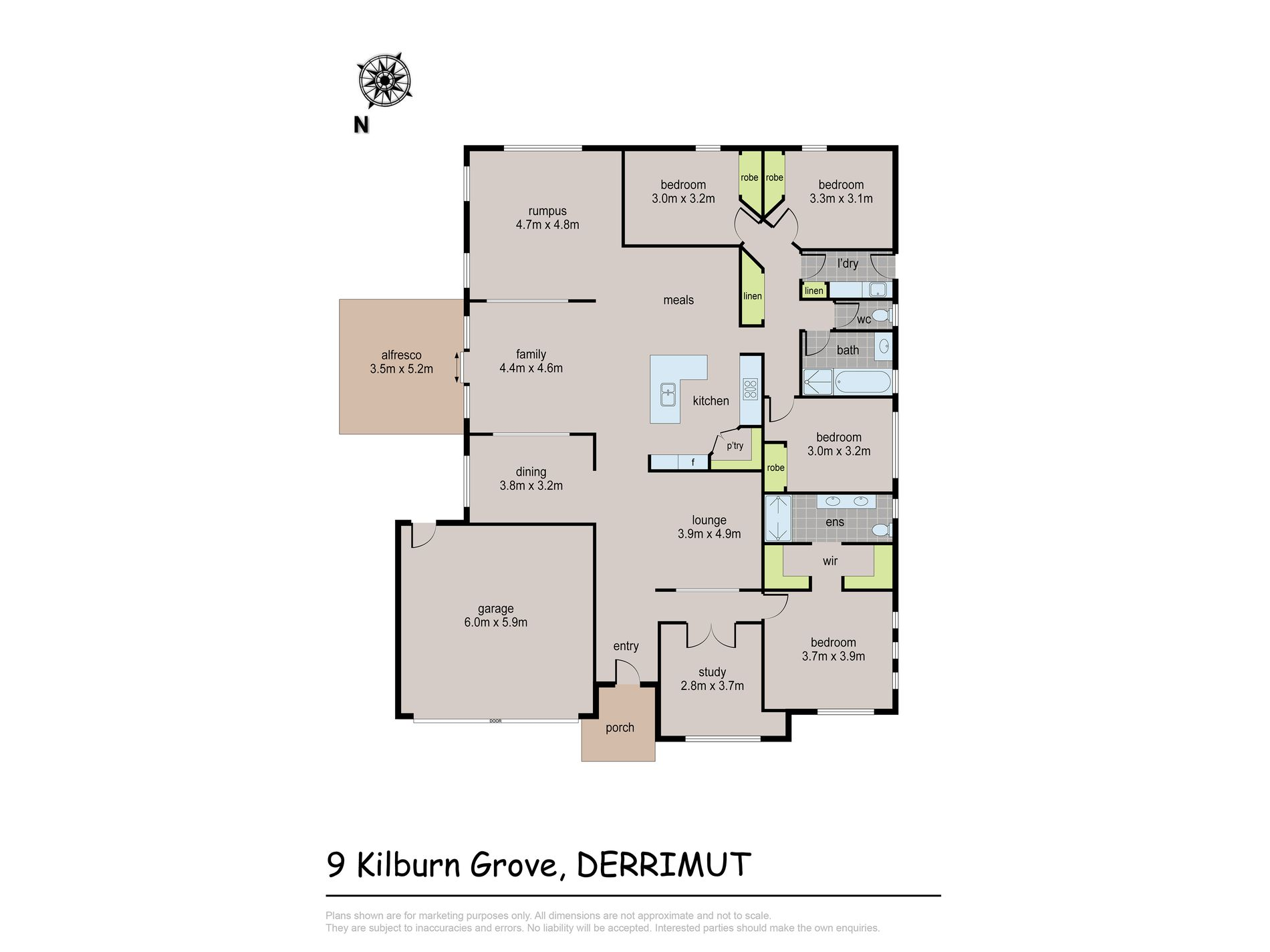 9 Kilburn Grove, Derrimut