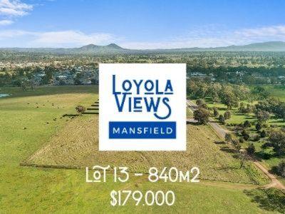 Lot 13, Loyola Views, Mansfield