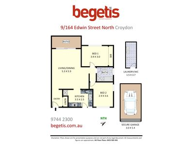9 / 164 Edwin Street North, Croydon