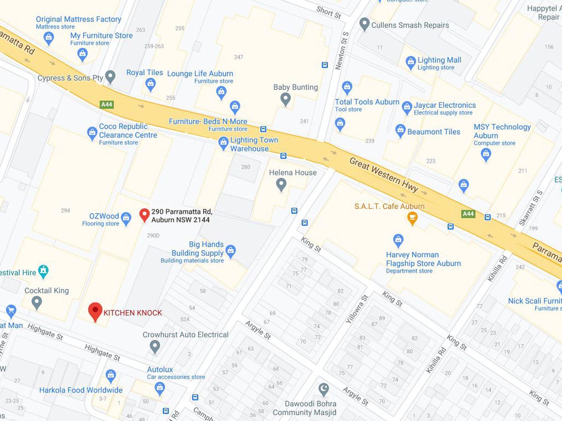290 Parramatta Road, Auburn