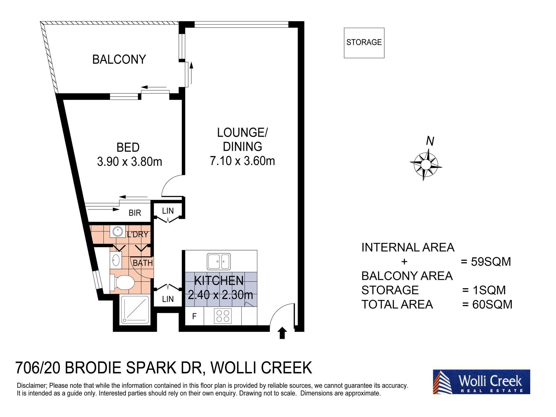 706 / 20 Brodie Spark Drive, Wolli Creek