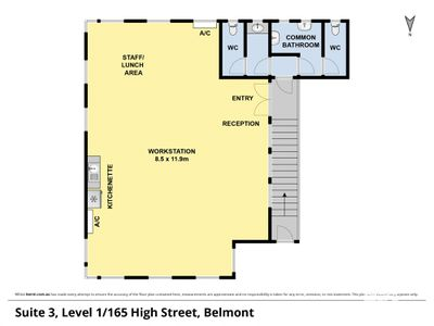 Suite 3, Level 1 165 High Street , Belmont