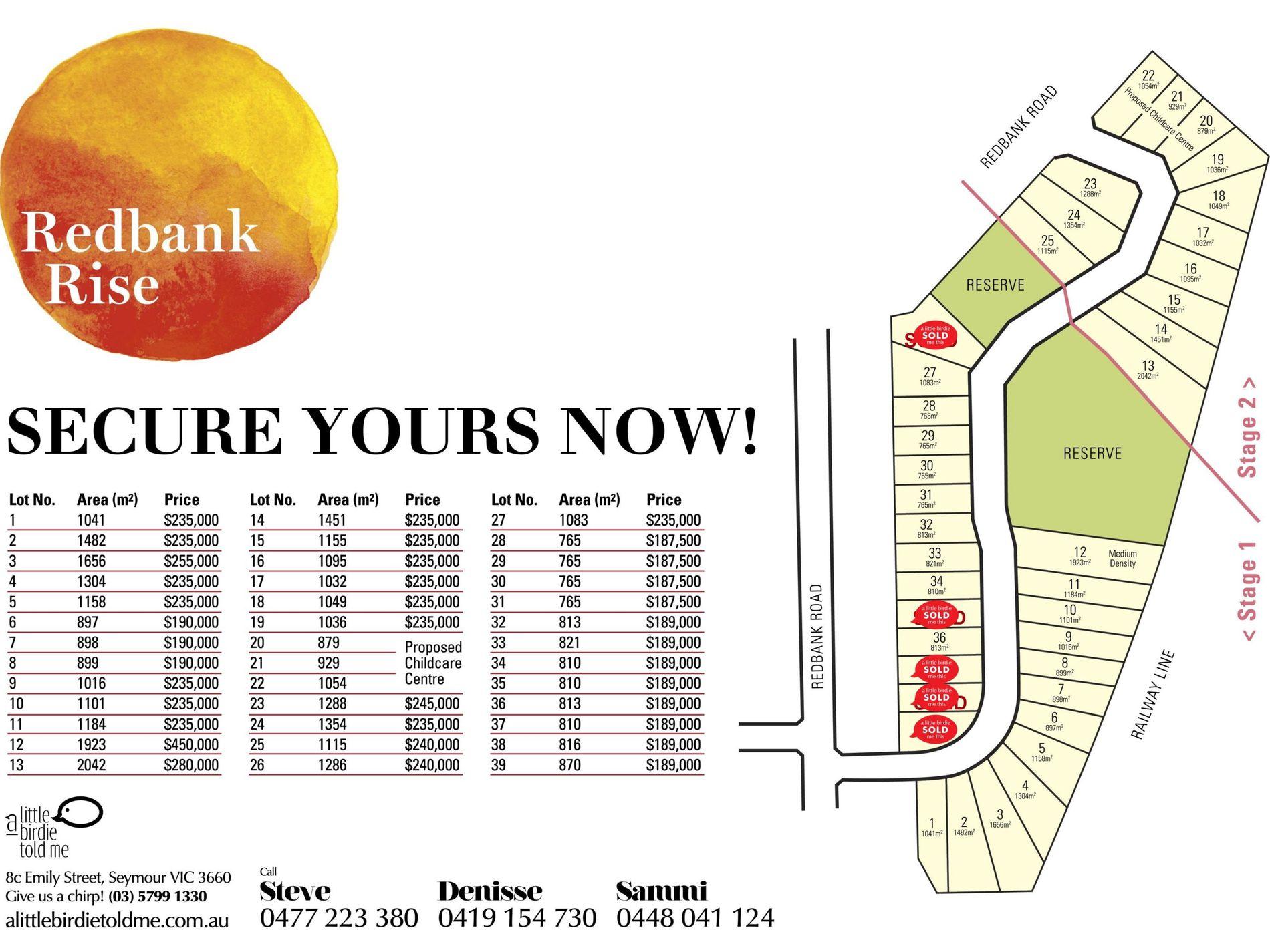 Lot 34 Redbank Rise, Seymour
