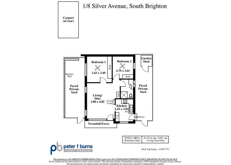 1 / 8 Silver Avenue, South Brighton
