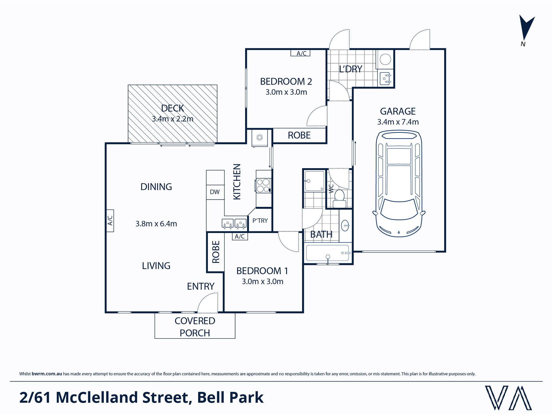 2 / 61 McClelland Street, Bell Park