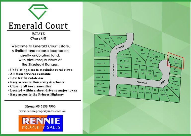 Lot 22 Emerald Court, Churchill