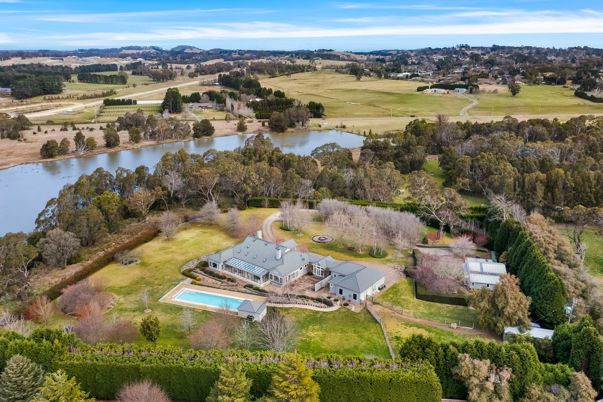 A stately residence privately nestled on just over 5 acres