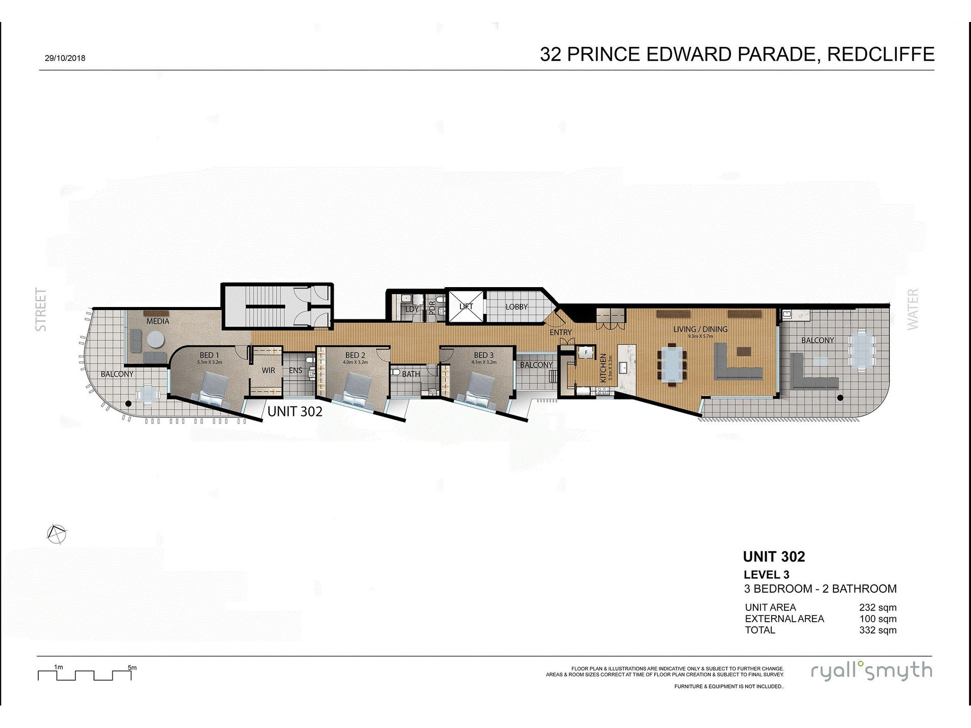 302 / 30 Prince Edward Parade, Redcliffe