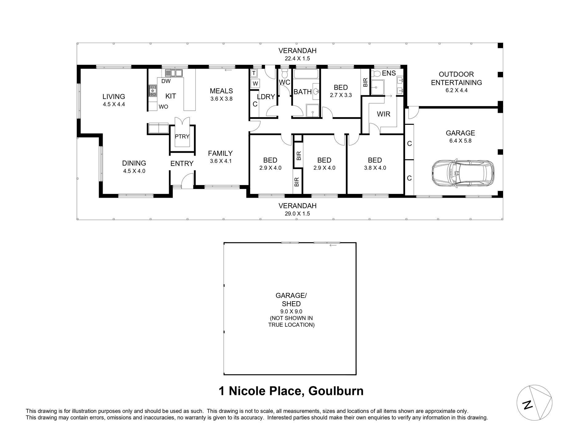 1 Nicole Place, Goulburn