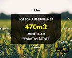 Lot 834 Amberfield Street, Mickleham