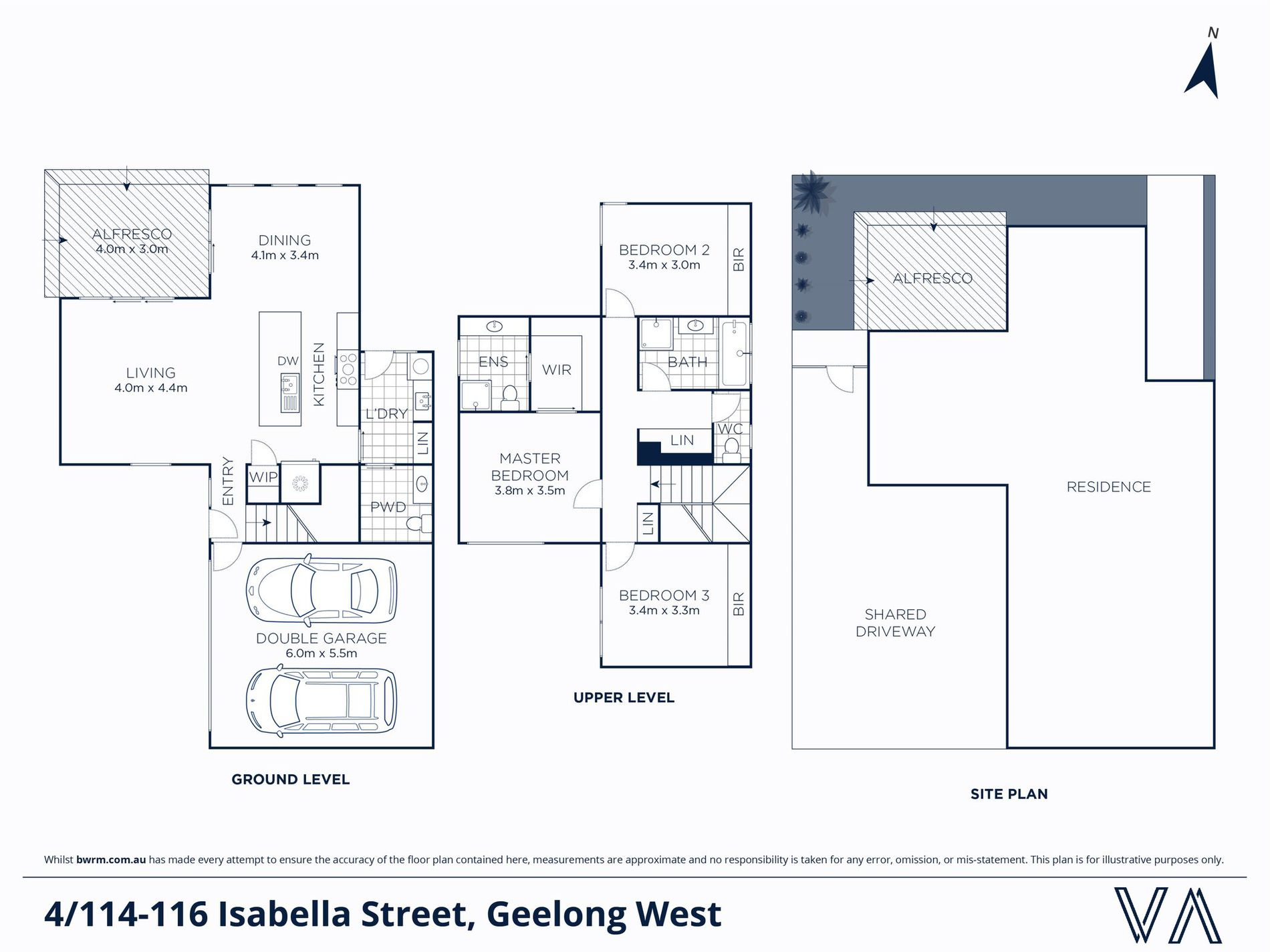 4 / 114-116 Isabella Street, Geelong West