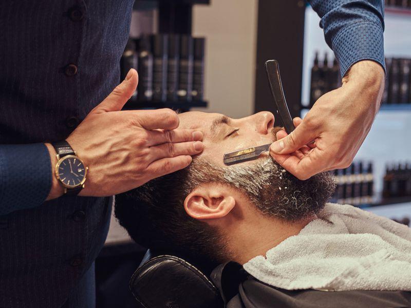 Long Established Barber Shop Business For Sale
