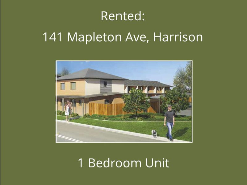 40, 141 Mapleton Ave, Harrison act 2914, Harrison