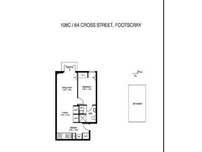 108 / 64 Cross Street, Footscray
