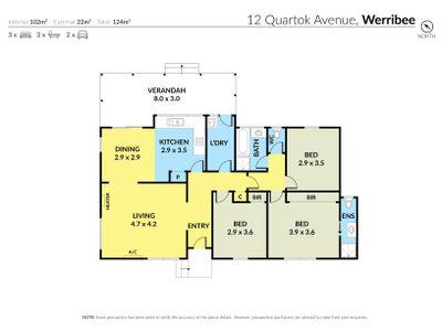 12 Quartok Avenue, Werribee