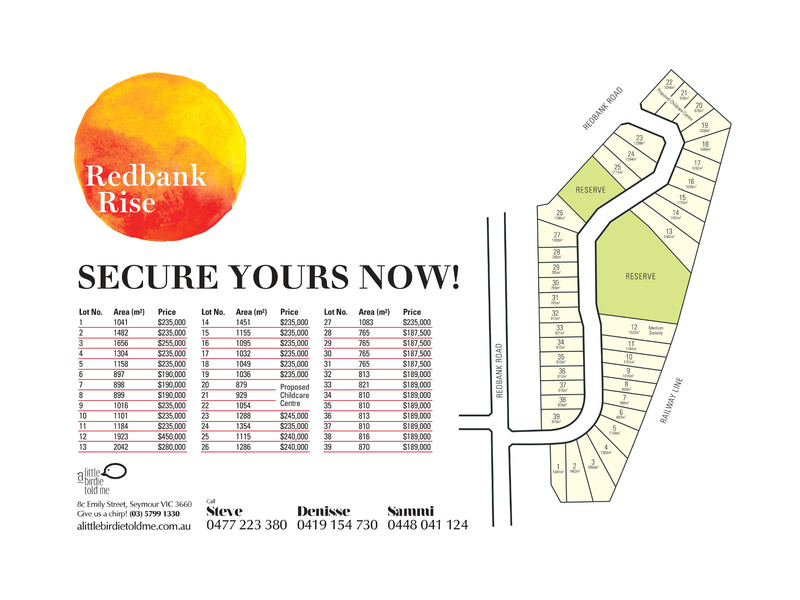 Lot 7 Redbank Rise, Seymour