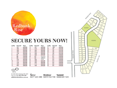 Lot 8 Redbank Rise, Seymour