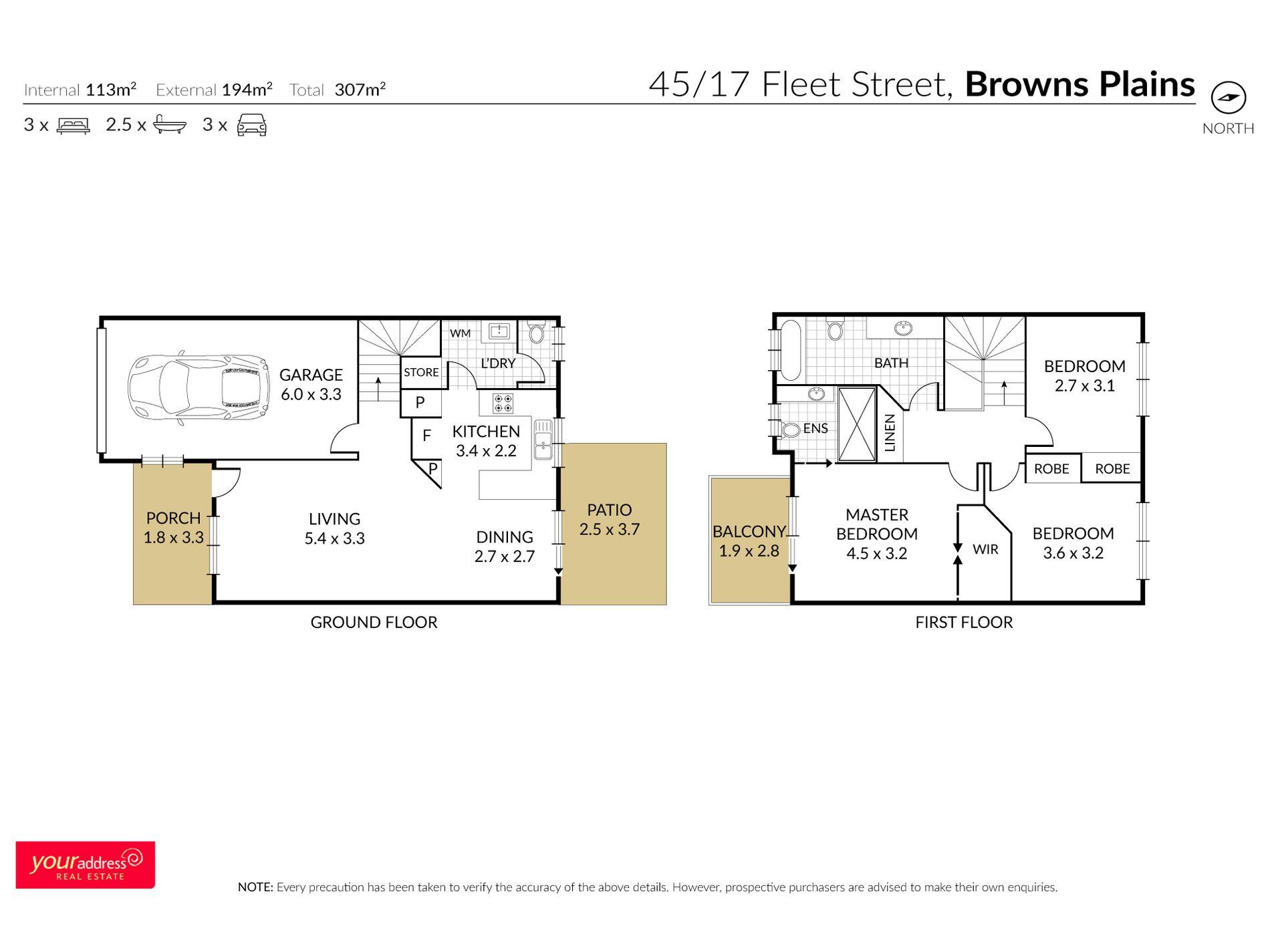 45 / 17 Fleet Street, Browns Plains