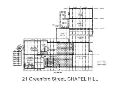 21 Greenford Street, Chapel Hill