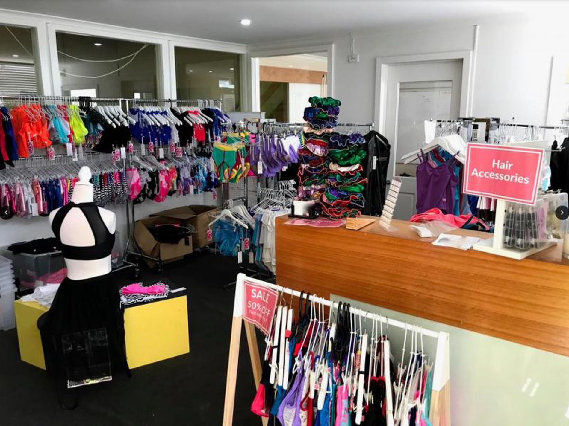 SOLD-Dancewear Manufacturing, Retail and Online Business For Sale
