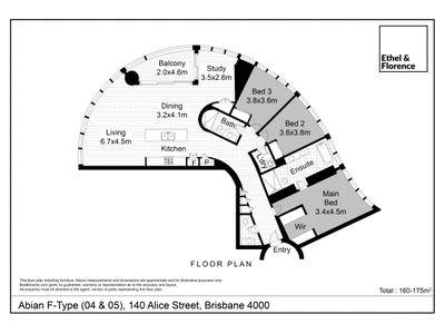 1904 / 140 Alice Street, Brisbane City