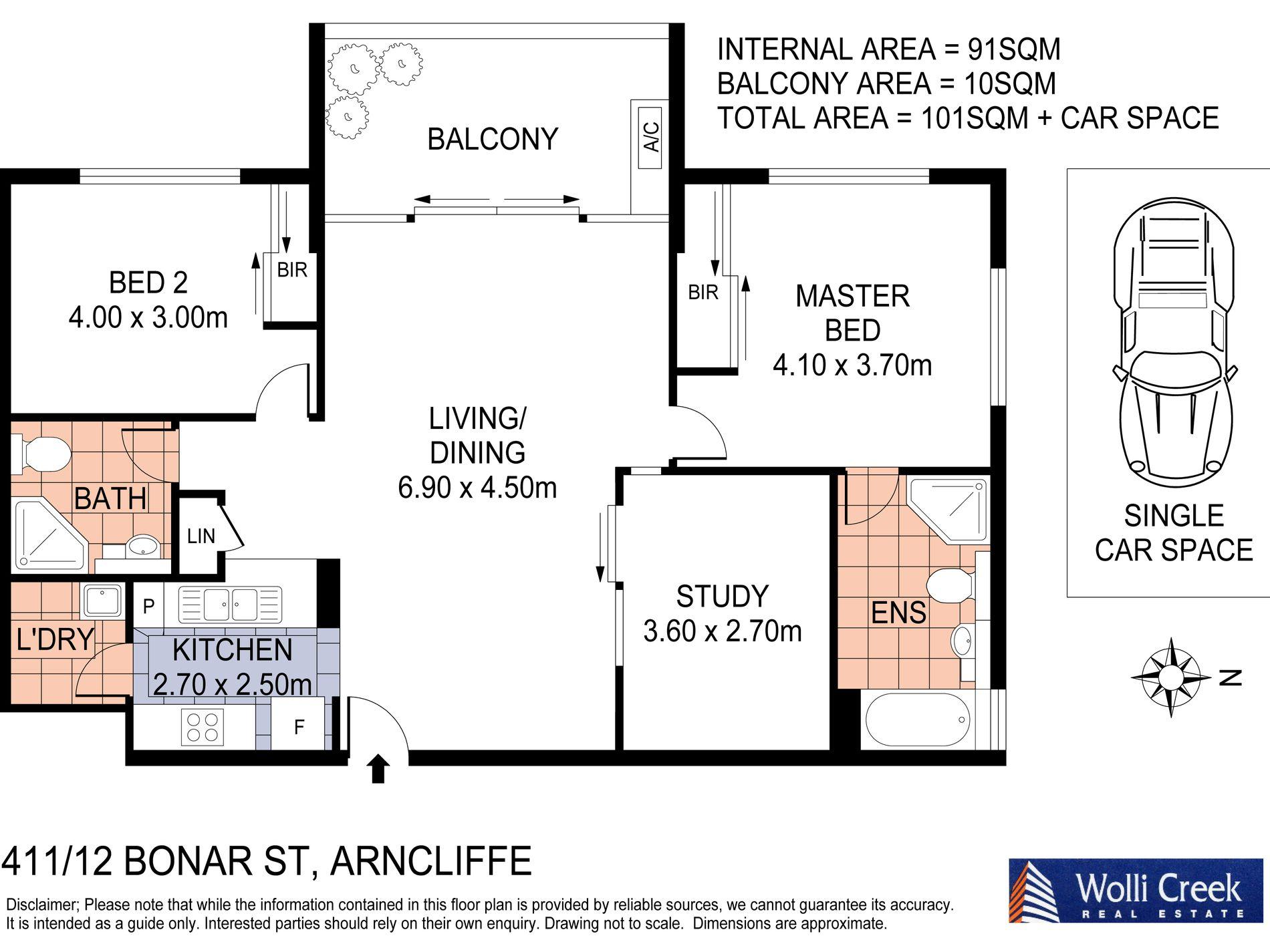 411 / 12 Bonar Street, Arncliffe