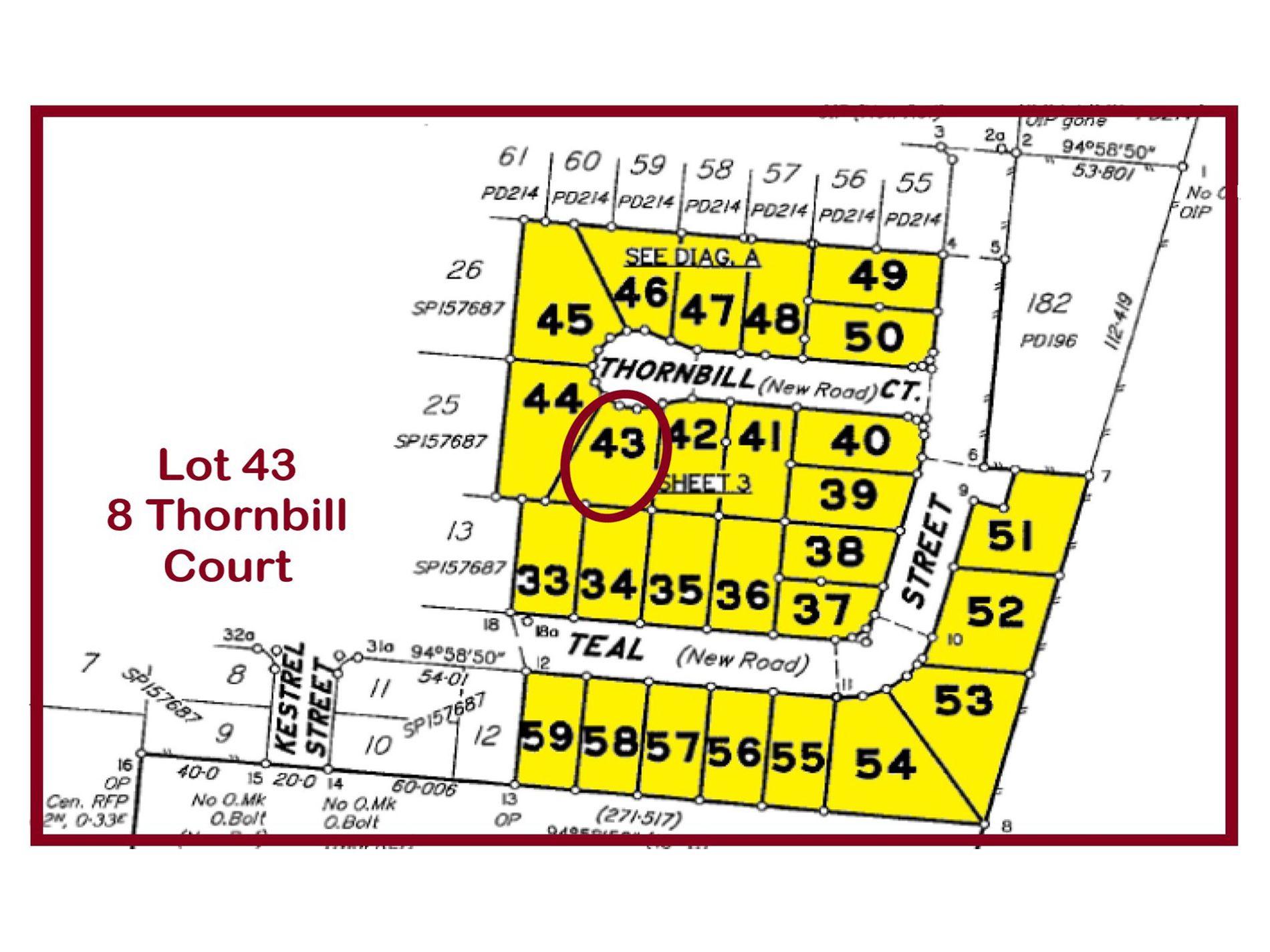 Lot 43, 8 Thornbill Court, Longreach