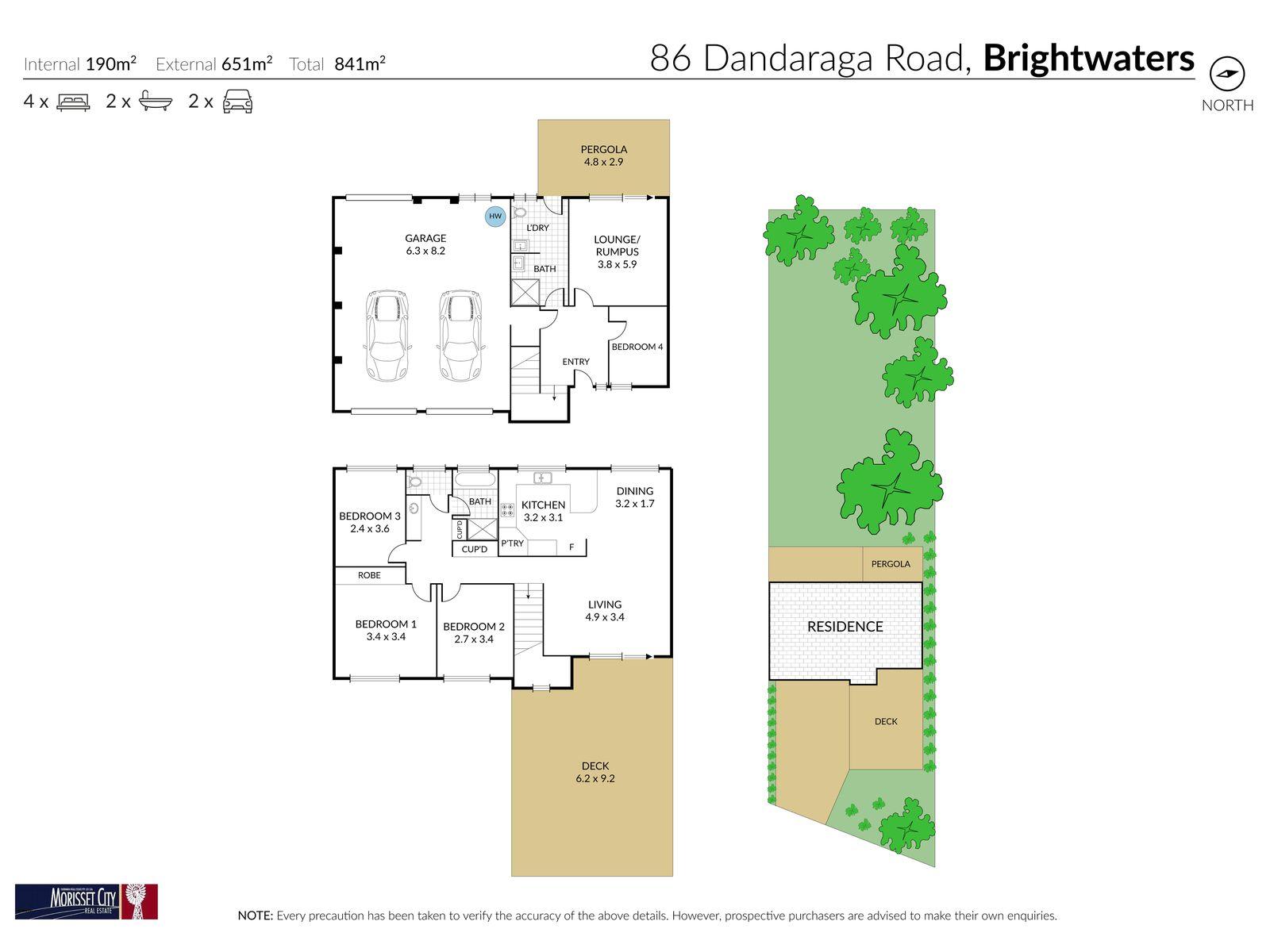 86 Dandaraga Road, Brightwaters