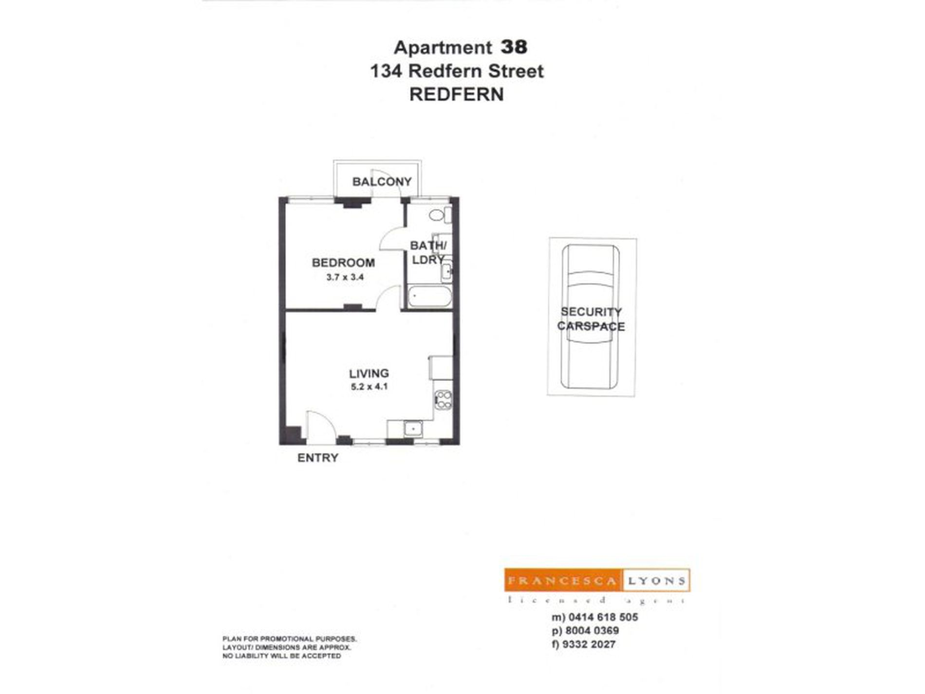 38 / 134 Redfern Street, Redfern