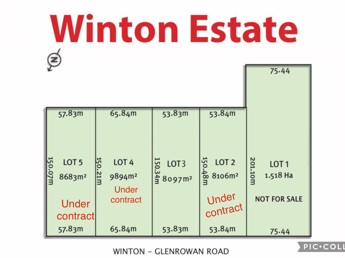 Lot 3, 168 Winton/Glenrowan Road, Winton