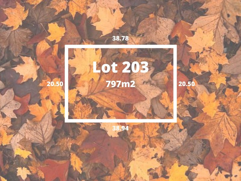 Lot 203 Autumn Views Estate, Romsey