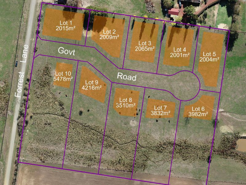 Lot 1-10, Forrest Lane, Beechworth