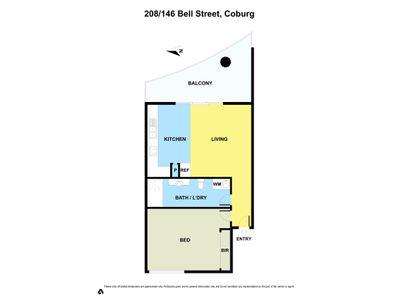 208 / 146 BELL STREET, Coburg