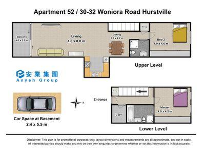 52 / 30-32 Woniora Rd, Hurstville