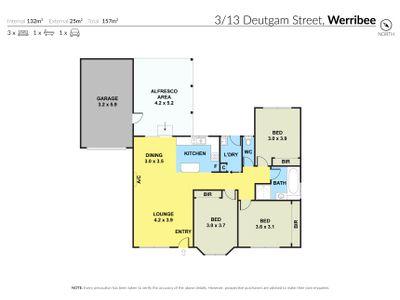 3 / 13 Deutgam Street, Werribee