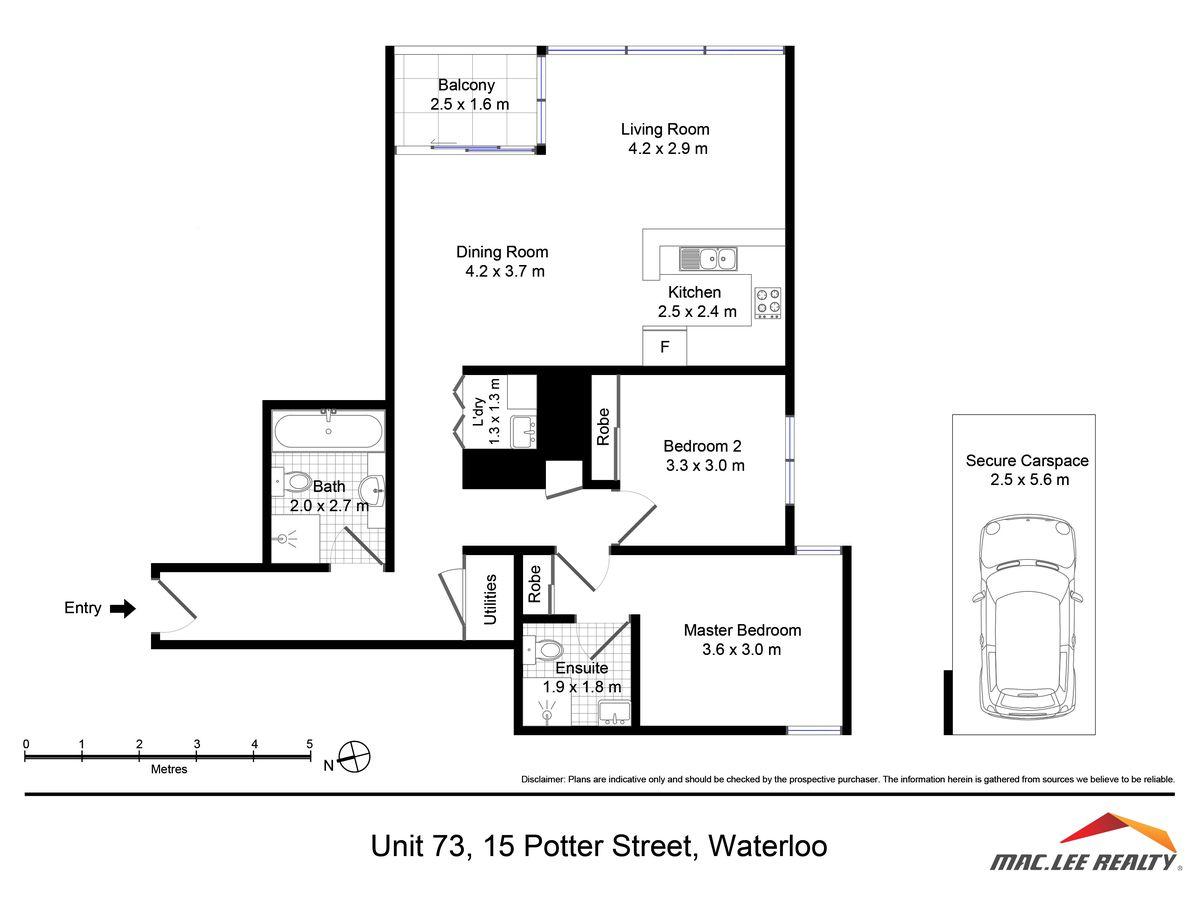 73 / 15 Potter Street, Waterloo