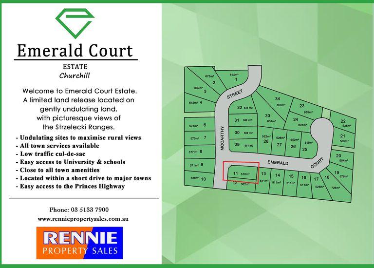 Lot 11 Emerald Court, Churchill
