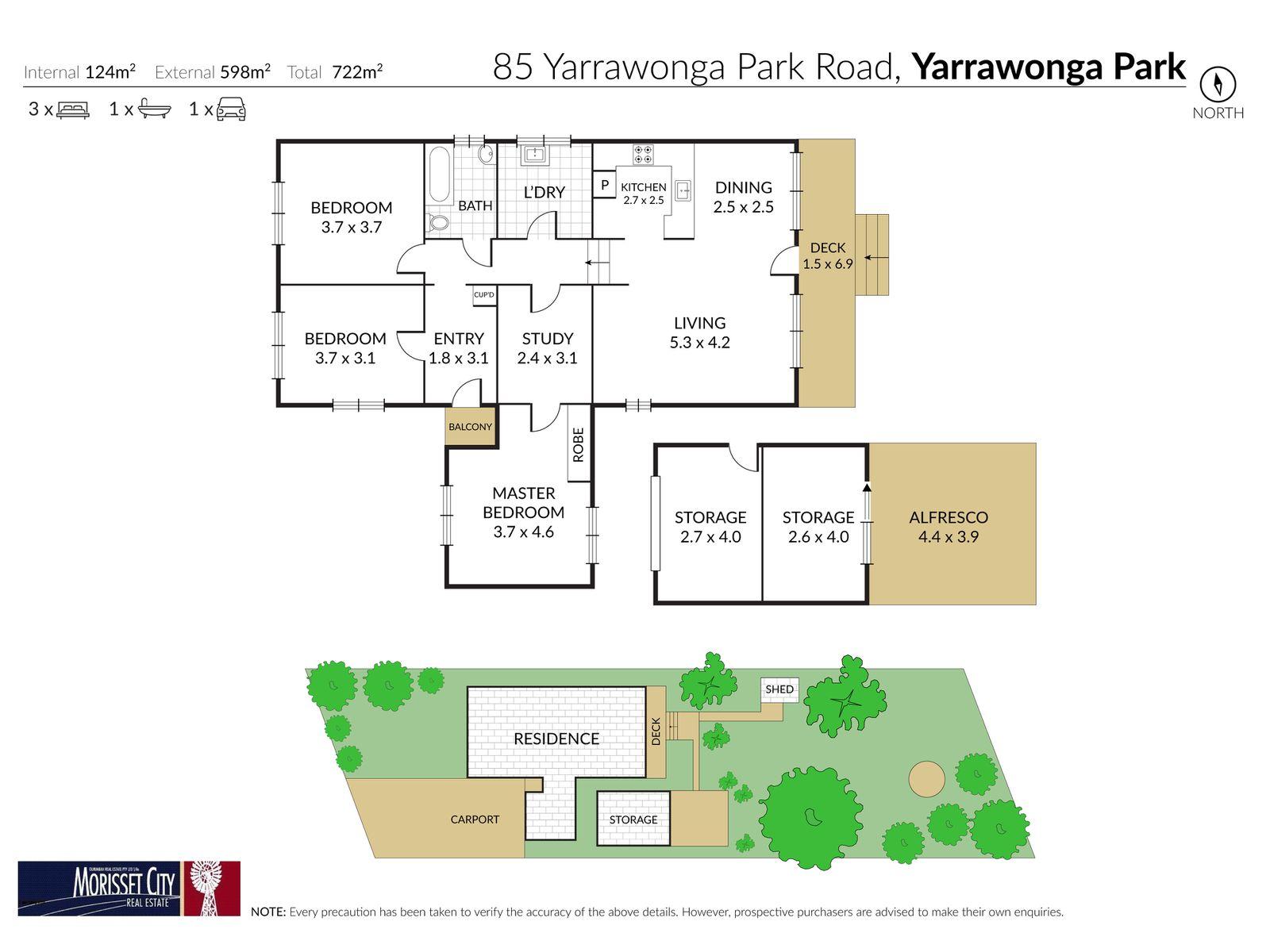 85 Yarrawonga Park Road, Yarrawonga Park