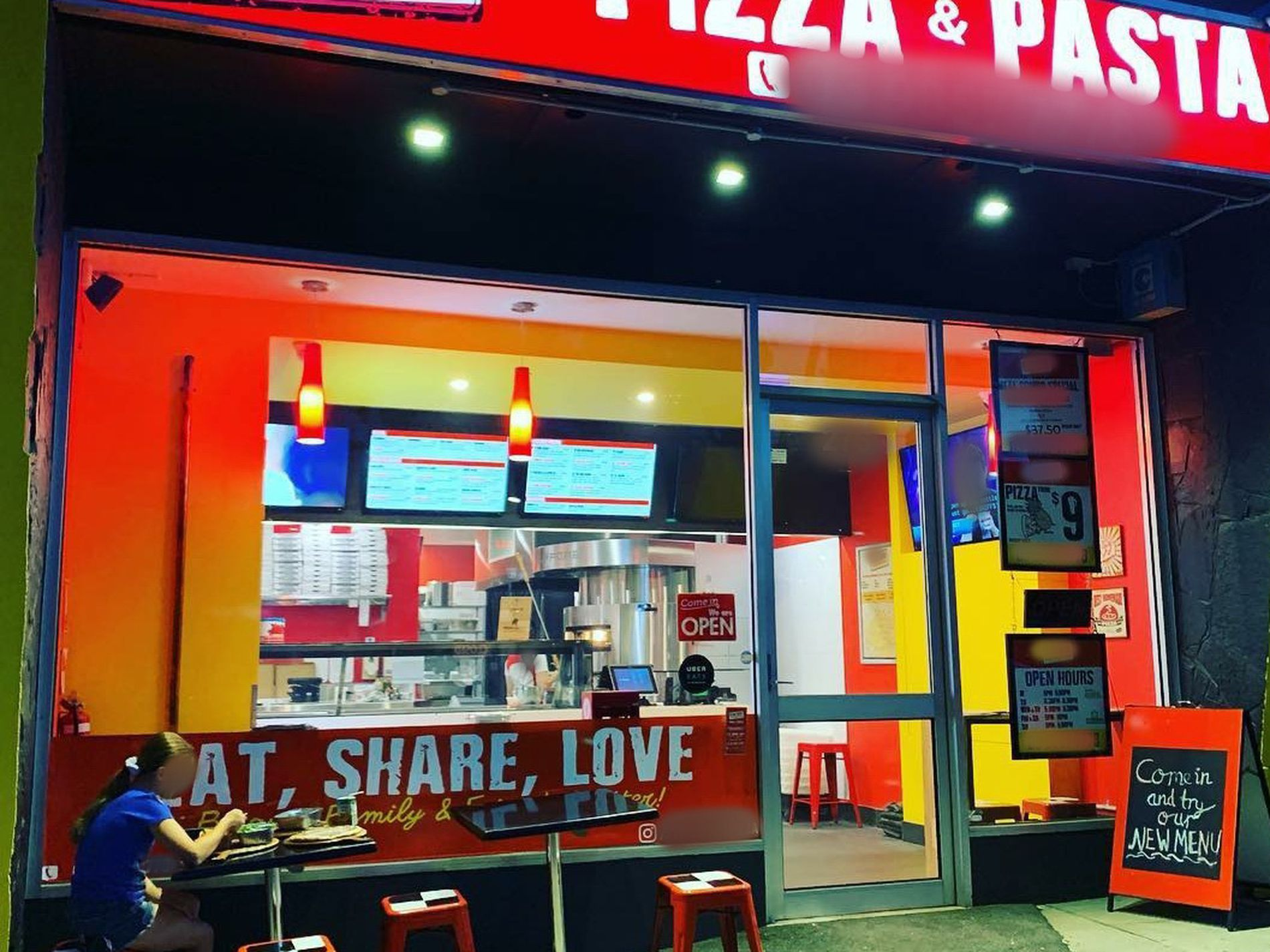 SOLD-Pizza and Pasta Takeaway Business in the East