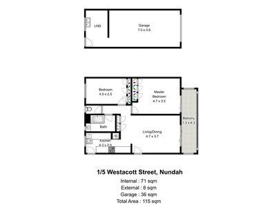 1 / 5 Westacott Street, Nundah