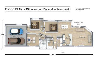 13 SATINWOOD PLACE, Mountain Creek