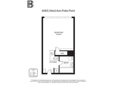 408 / 5 Ward Avenue, Potts Point