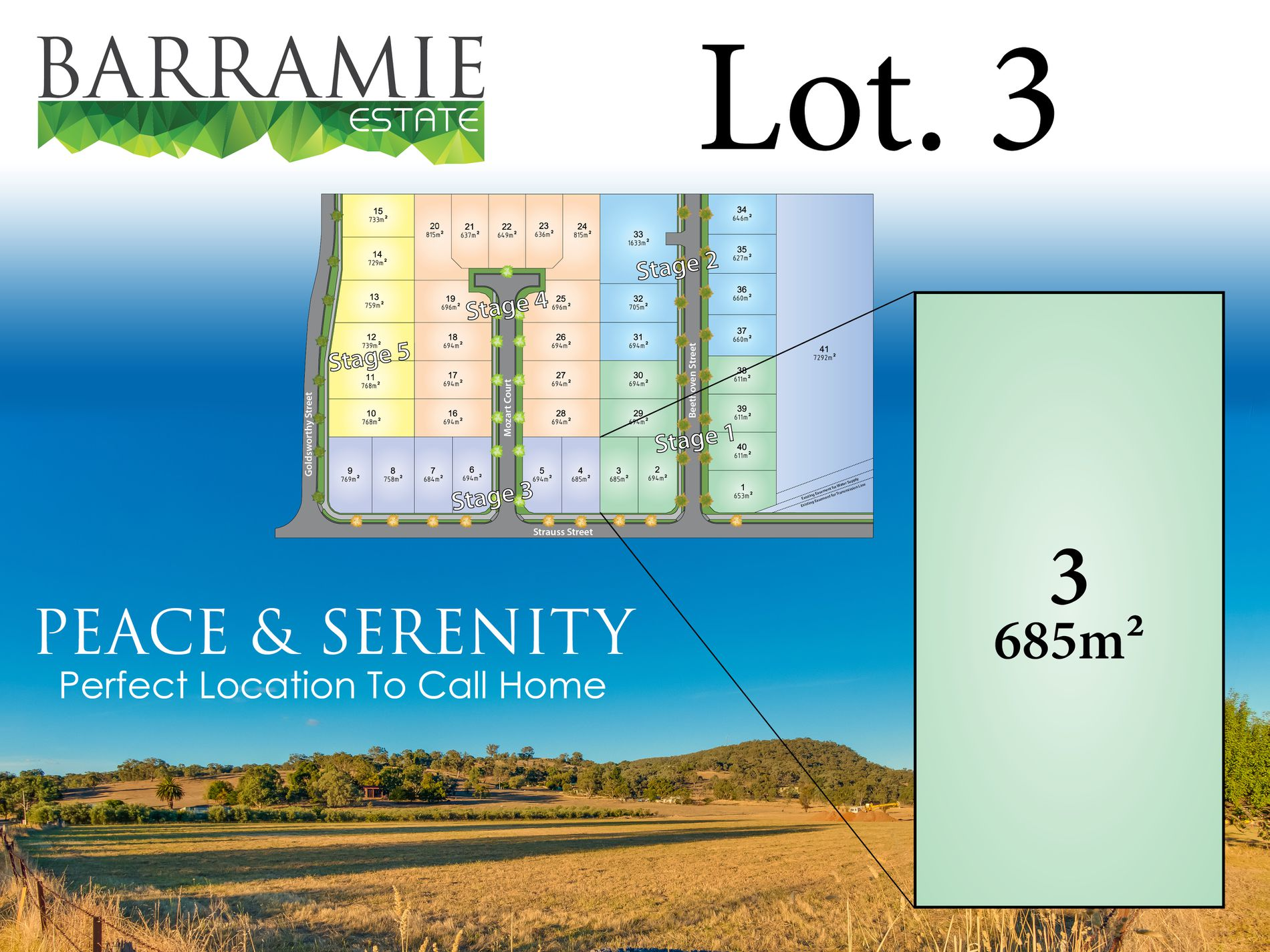 Lot 3 Mozart Court, Springdale Heights