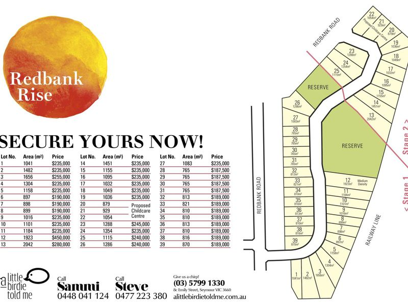 Lot 3 Redbank Rise, Seymour