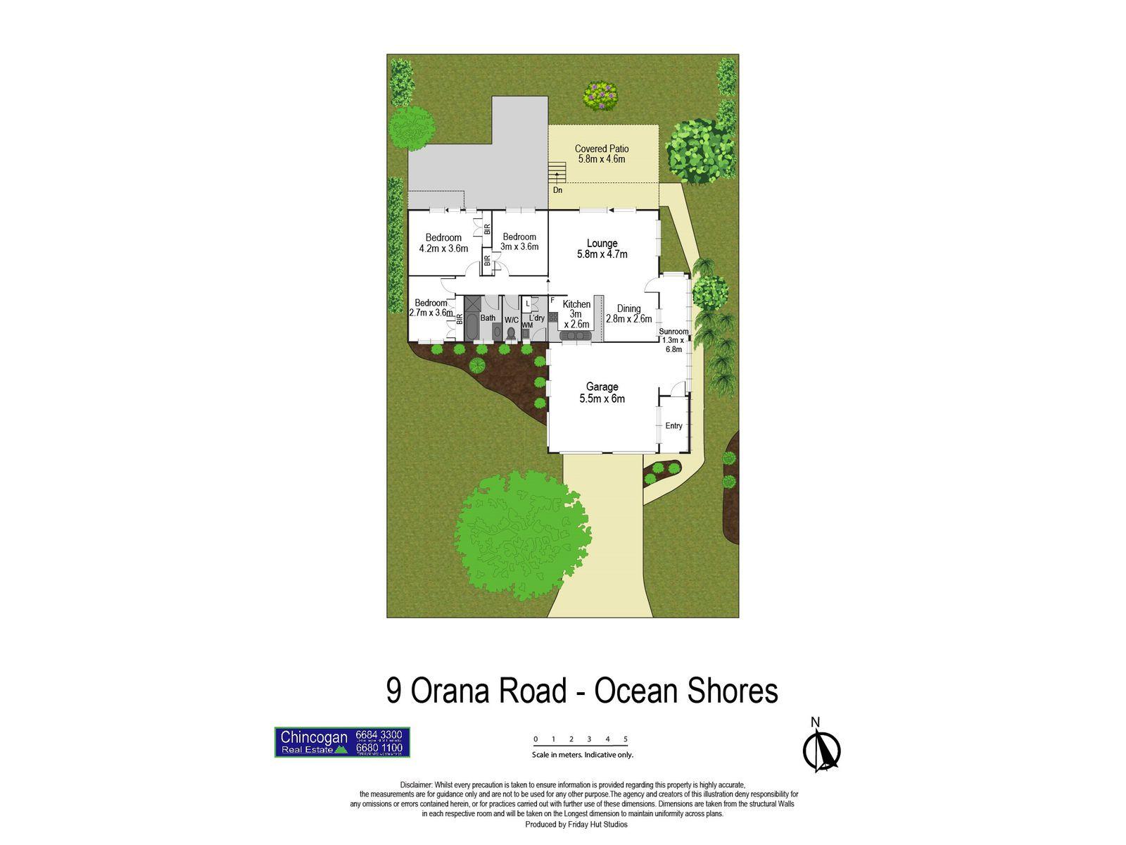 9 Orana Road, Ocean Shores