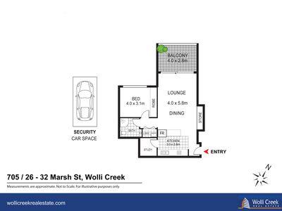 705 / 26 Marsh St, Wolli Creek